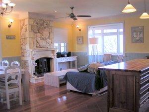 Open plan lounge room