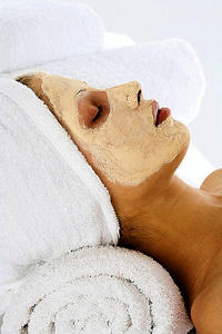Relax with a Face Mask