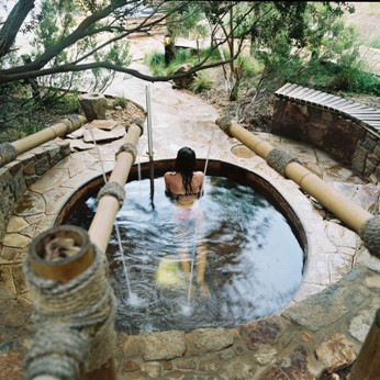 Hot Springs Spa Dreaming Centre Waterfall Pool