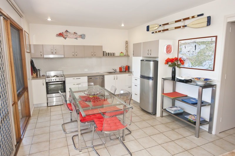 Fully equipped Kitchen with pantry supplies
