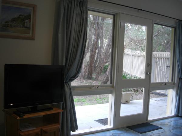Lounge with door to garden