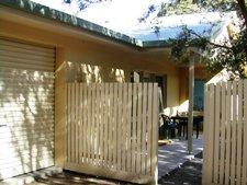 Garage door and gate entrance