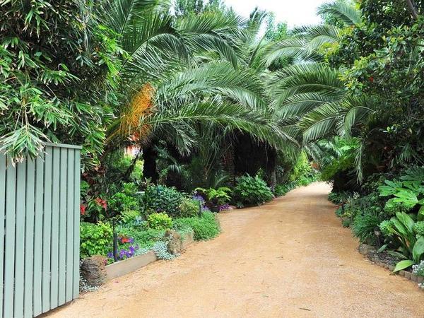 Seacove garden entrance