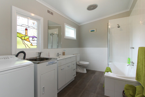 Renovated bathroom/laundry