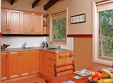 Self-contained cottage kitchen