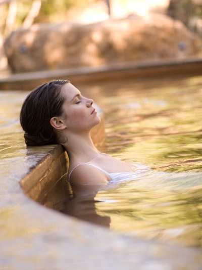 Peninsula Hot Springs thermal mineral pools - a short drive away