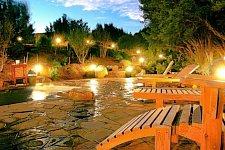 Hot Springs by dusk