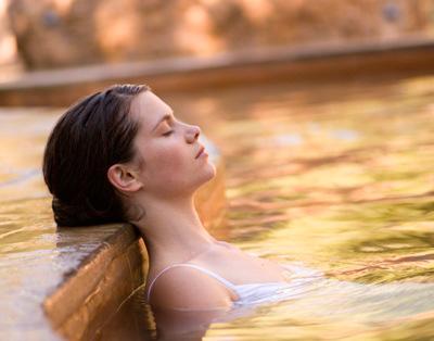 Relaxing Thermal Pools