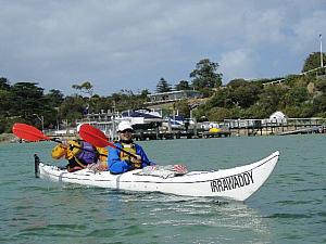 Kayak at Sorrento