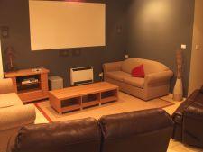 Downstairs 'media' room