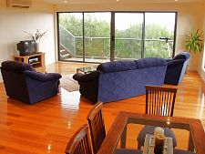 Upstairs second living-dining area